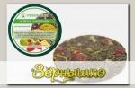 Чай зеленый с клубникой, ананасом, папайей, календулой, розой Король Джунглей (плитка), 50 г
