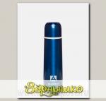 Термос бытовой вакуумный Синий (для напитков), 500 мл