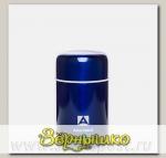 Термос бытовой, вакуумный с широким горлом Синий, 750 мл