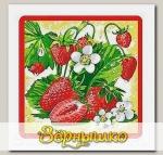 Прихватка Ягоды-фрукты (клубника)
