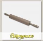 Скалка пластиковая с силиконовой поверхностью GEMINI, 32x6,5 см