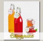 Этикетки для банок и бутылок с зажимом DELLA CASA, 24 шт.