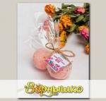 Бомбочка для ванны Роза, 80 г
