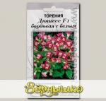 Торения Дюшесс Бордовая с белым F1, 5 шт. Профессиональные семена