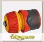 Соединитель для шлангов 1/2' (12,5 мм) PREMIUM с автостопом и запирающим механизмом GRINDA