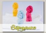 Мыло фигурное ручной работы Мишка (цвета в ассортименте), 95 г