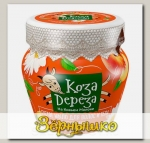 Густое мыло для волос и тела Омолаживающее с маслом персика Коза дереза, 175 мл