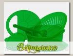 Комплект посуды Хозяюшка Овальная в упаковке (Цвета в ассортименте)