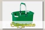 Корзина складная SHOP! (зеленая), 23 л