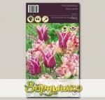 Тюльпан махровый ранний/лилиецветный BELICIA/CLAUDIA MIXED, 20 шт.