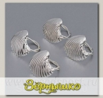 Набор колец для салфеток Ракушки, 4 штуки, 3056-MR