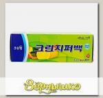 Пакеты полиэтиленовые на молнии Clean Wrap 15х10 см, 20 шт.