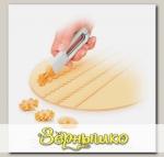 Нож для теста с 4 сменными колесиками DELICIA