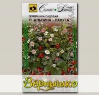 Земляника садовая Альпина-Радуга F1, 10 шт.
