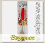 Ложка для спагетти White Fox Elegance RED (WKSG24-004)