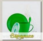 Набор посуды Очарование на 1 персону в мягком футляре (Цвета в ассортименте)
