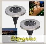 Светильник на солнечной батарее садовый INGROUND для дорожек