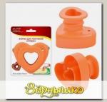 Форма для пончиков Сердце d 8,5 см