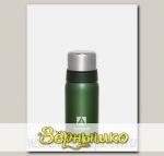Термос бытовой вакуумный Зеленый (для напитков), 1200 мл