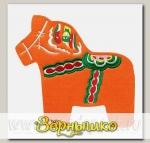 Подставка под горячее Dala horse trivet