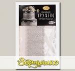 Кружево съедобное сахаристое Серебряное, 12 г