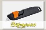 Нож обойный металлический с пружинным фиксатором, 19 мм (1209)