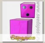 Кашпо Миникуб Фиолетовый на магните, 0,16 л