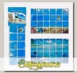 Пленка-стикер защитная Море (дизайн в ассортименте), 90х60 см