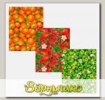 Полотенце Урожай Клубника, 48х62 см