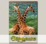 Обогреватель инфракрасный настенный Жирафы