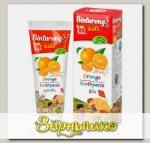 Зубная паста детская BINTURONG ORANGE с ароматом апельсина с 3 лет, 50 г