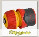 Соединитель для шлангов 3/4' (19 мм) PREMIUM с автостопом и запирающим механизмом GRINDA