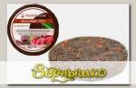 Чай черный с вишней, шоколадом и малиной Шелковый путь (плитка), 50 г
