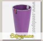 Кашпо Грейс с фитильным поливом Фиолетовое, 1,3 л