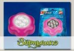 Светильник-ночник светодиодный на батарейках Пушлайт-Розовый цветок