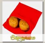 Мешок для запекания картофеля в СВЧ тканевый