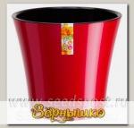 Горшок АРТЕ Красный-Черный, 1,2 л