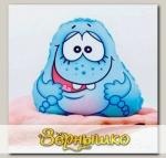 Игрушка-мочалка растущая в воде Капитошка Синий
