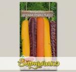 Морковь Детская грядка Радуга, Смесь, 0,5 г