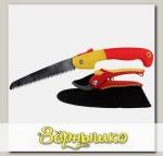 Набор садовый GRINDA 3 предмета (секатор, ножовка, чехол)