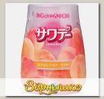 Освежитель воздуха для туалета Персик в шампанском Sawaday Kobayashi, 140 г