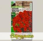 Бальзамин Супер Эльфин Красный шар F1, 10 шт. PanAmerican Seeds Ампельные Шедевры
