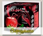 Смузи c мятой, клубникой, яблоком и чёрной смородиной DETOX, 12 г х 7 пак.