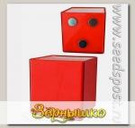 Кашпо Миникуб Красный на магните, 0,16 л