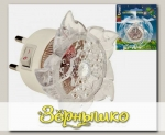 Светильник-ночник светодиодный в розетку Цветок (DTL-308)