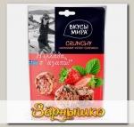 Кранчи Клубника-орехи-семечки Вкусы мира, 50 г