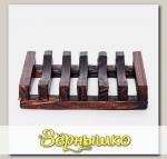 Мыльница деревянная, модель 7