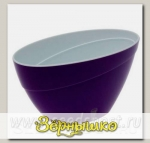 Горшок CALIPSO Фиолетовый-Белый, 2 л