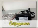 Комплект светодиодной фитоленты IP44, 2,5 метра с источником питания 12В, 30 Вт