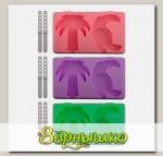 Форма для мороженого Тропики - Пальма/Тукан (цвета в ассортименте)